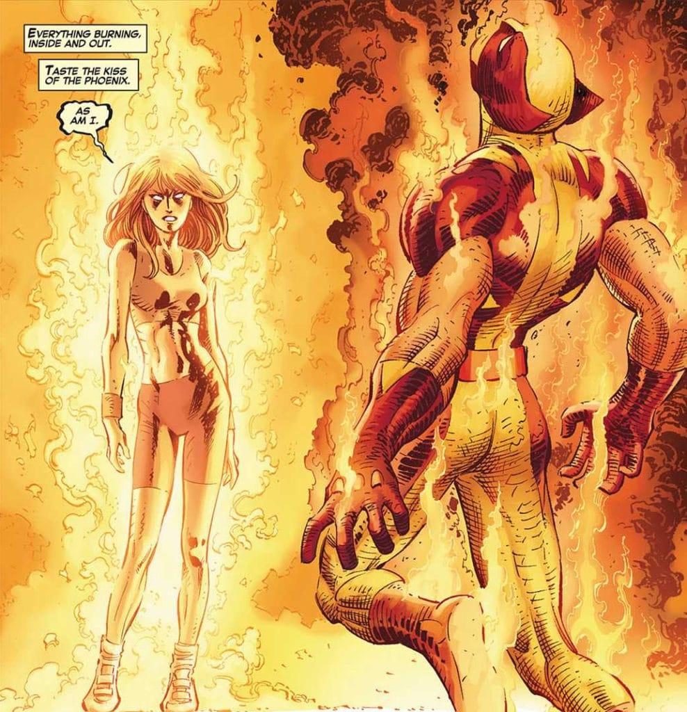 Wolverine killing Phoenix
