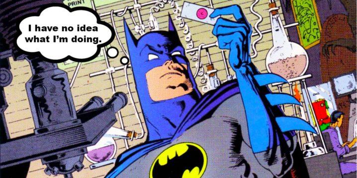 Batman's detective skills