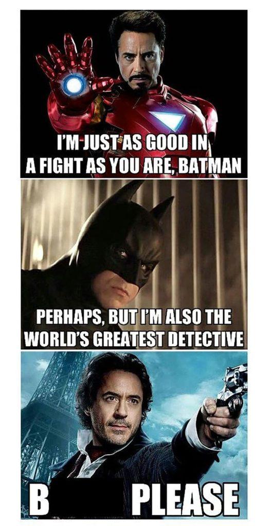 DC marvel meme