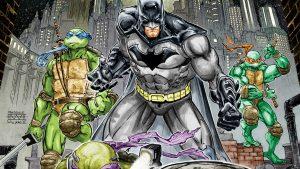 Batman- Teenage Mutant  Ninja Turtle