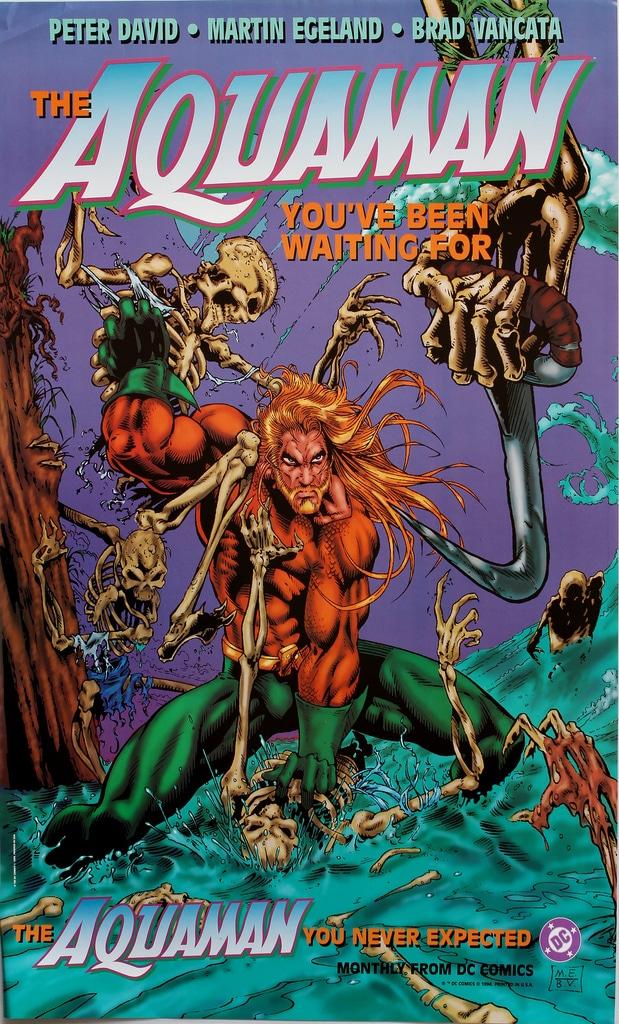 Aquaman By Peter David