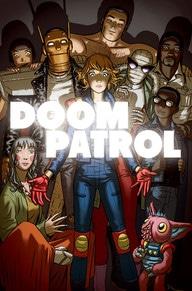The Seventh roster of Doom Patrol, in Doom Patrol #6 (April 2017)