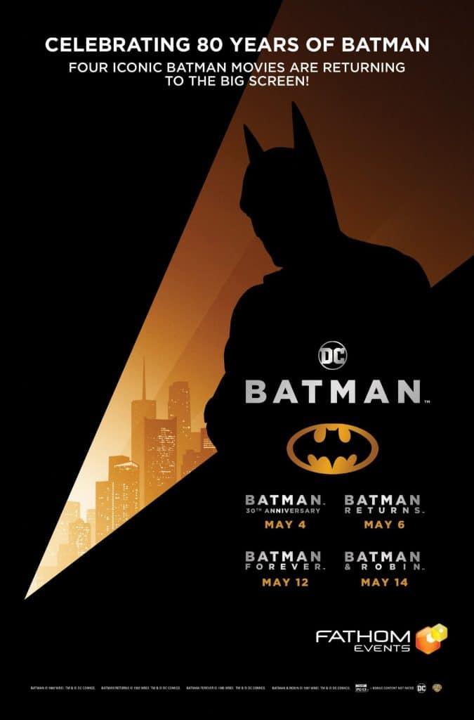 New Batman Poster : Celebrating 80 years of Batman
