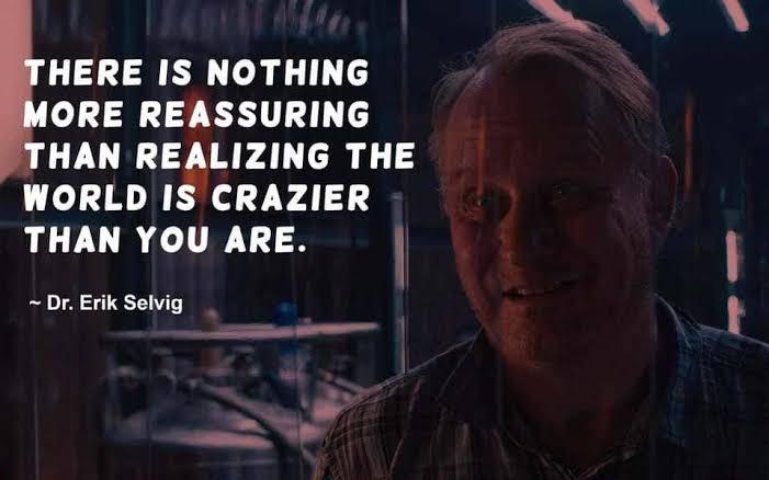 Dr. Erik Selvig Played by Stellan Skarsgard