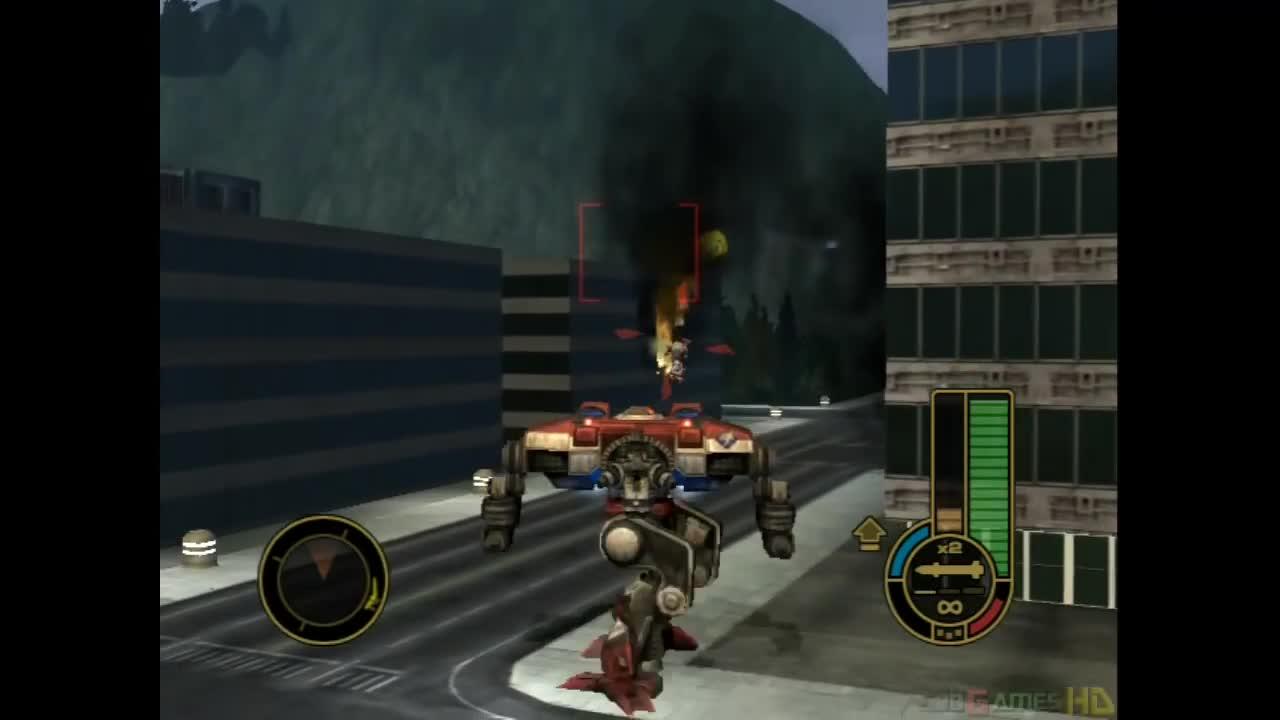 MechAssault gameplay.