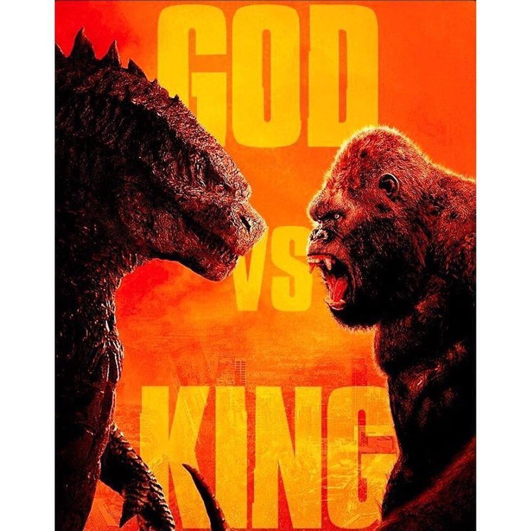Poster of Godzilla vs Kong