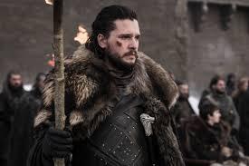 Jon during the battle