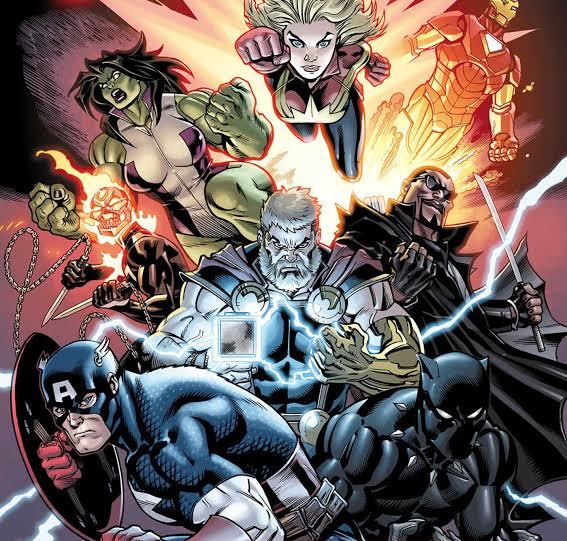 Jason Aaron's Avengers #1