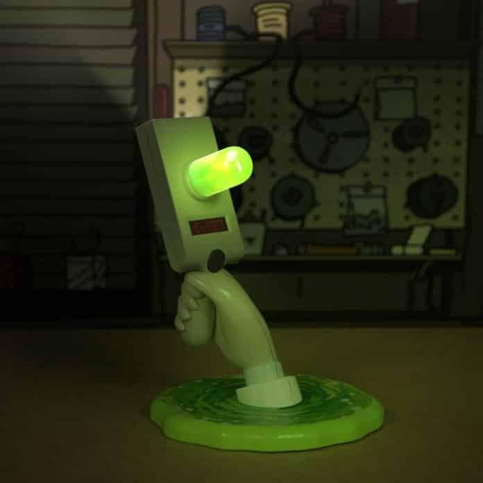 Rick and Morty Portal ray gun lamp