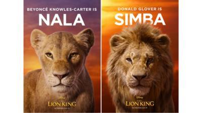 Posters for Nala and Simba