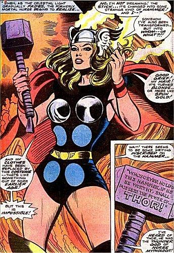 Jane Foster becomes female Thor. Pic courtesy: comicvine.gamespot.com