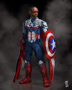Is the world really debating on black/ white Captain America?