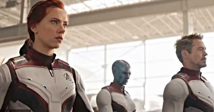 Avengers Endgame Suit up scene