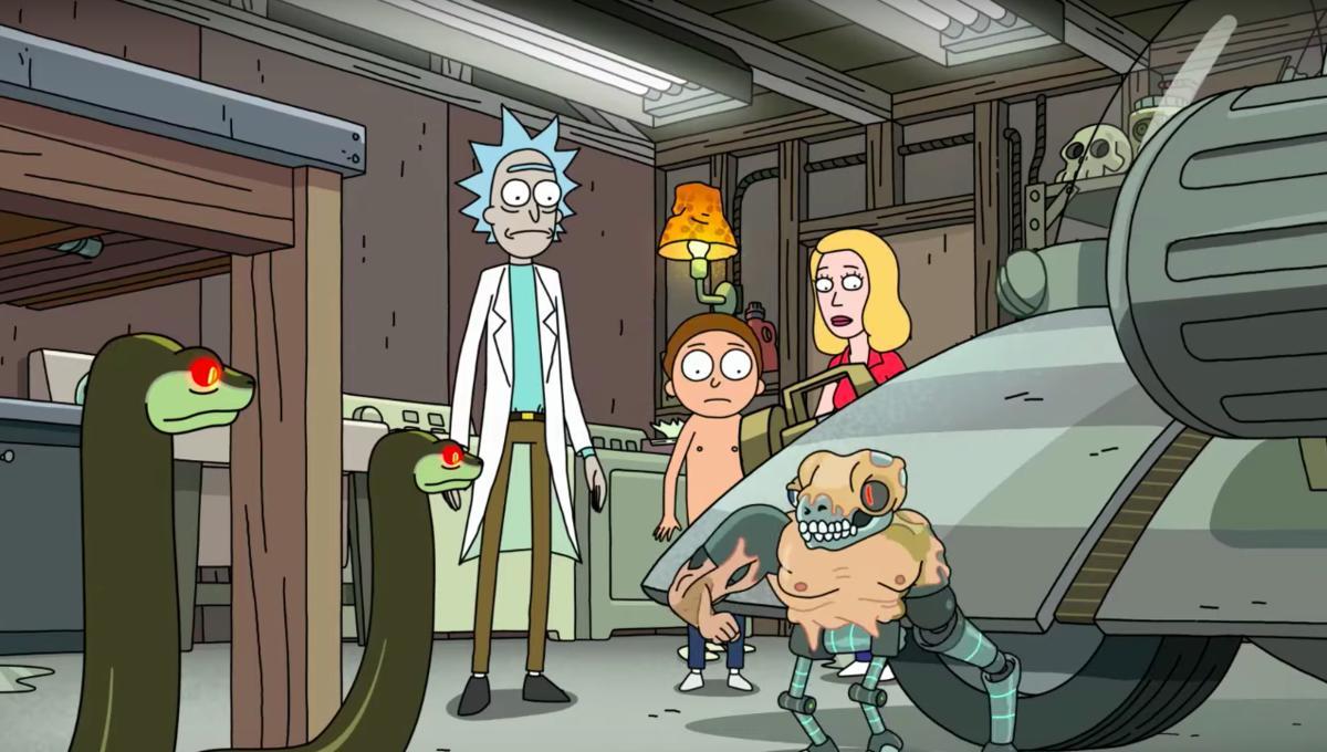 The post credit scene won't happen till Morty works on himself. Pic courtesy: Reddit.com