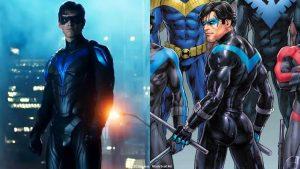 Nightwing's Costume