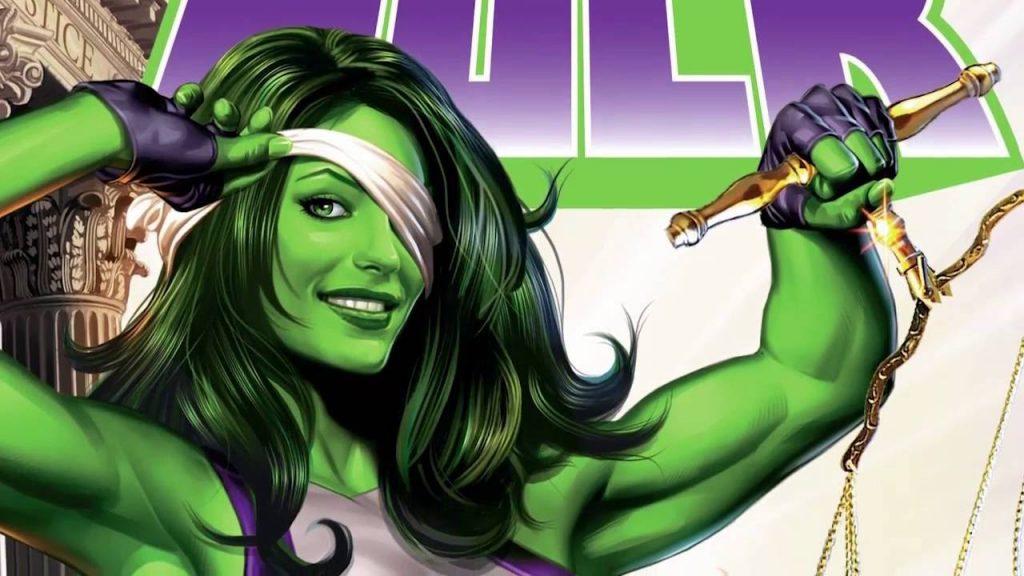 She-hulk comics look